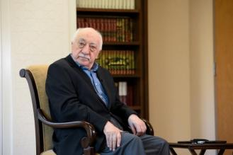 U.S.-based cleric Fethullah Gulen at his home in Saylorsburg