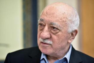 File photo of U.S. based cleric Fethullah Gulen at his home in Saylorsburg